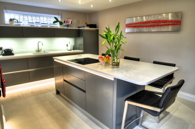 The Genesis Of This Kitchen Design Was The Desire For A Centre Island And  Breakfast Bar