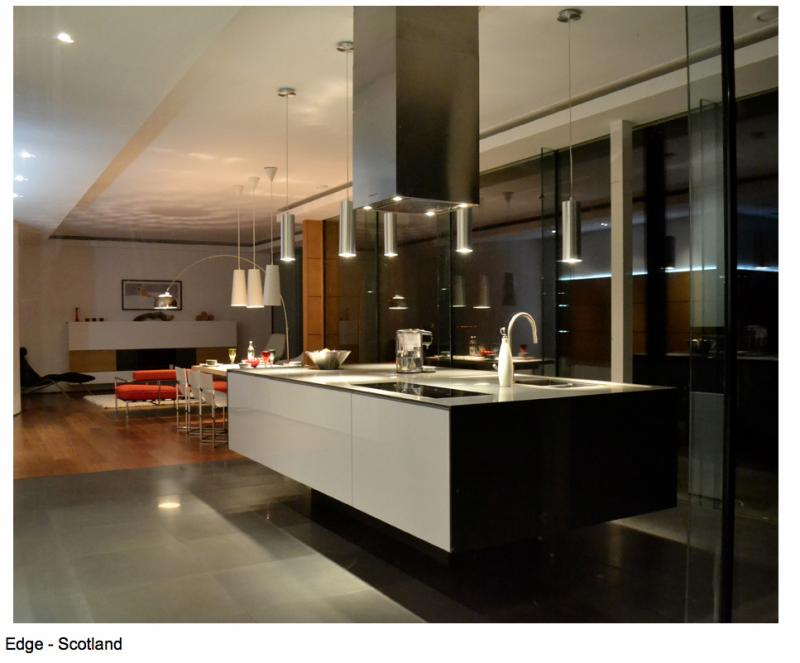 This kitchen featured on the front cover of Grand Designs Magazine ...