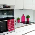 AEG built in oven and AEG induction hob