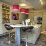 modern handleless kitchen design and installation, Lytham St Annes.