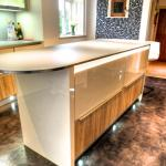 no more dark Iroko kitchens doors just Jasmine & Oak
