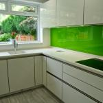 Glass splashbacks made to measure in any colour