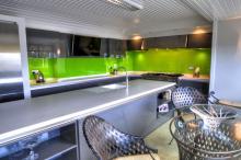 handless high gloss fitted kitchen Lytham Fylde Coast FY8