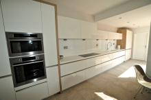Keller handleless kitchen with AEG appliances