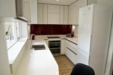 Keller high gloss handleless fitted kitchen